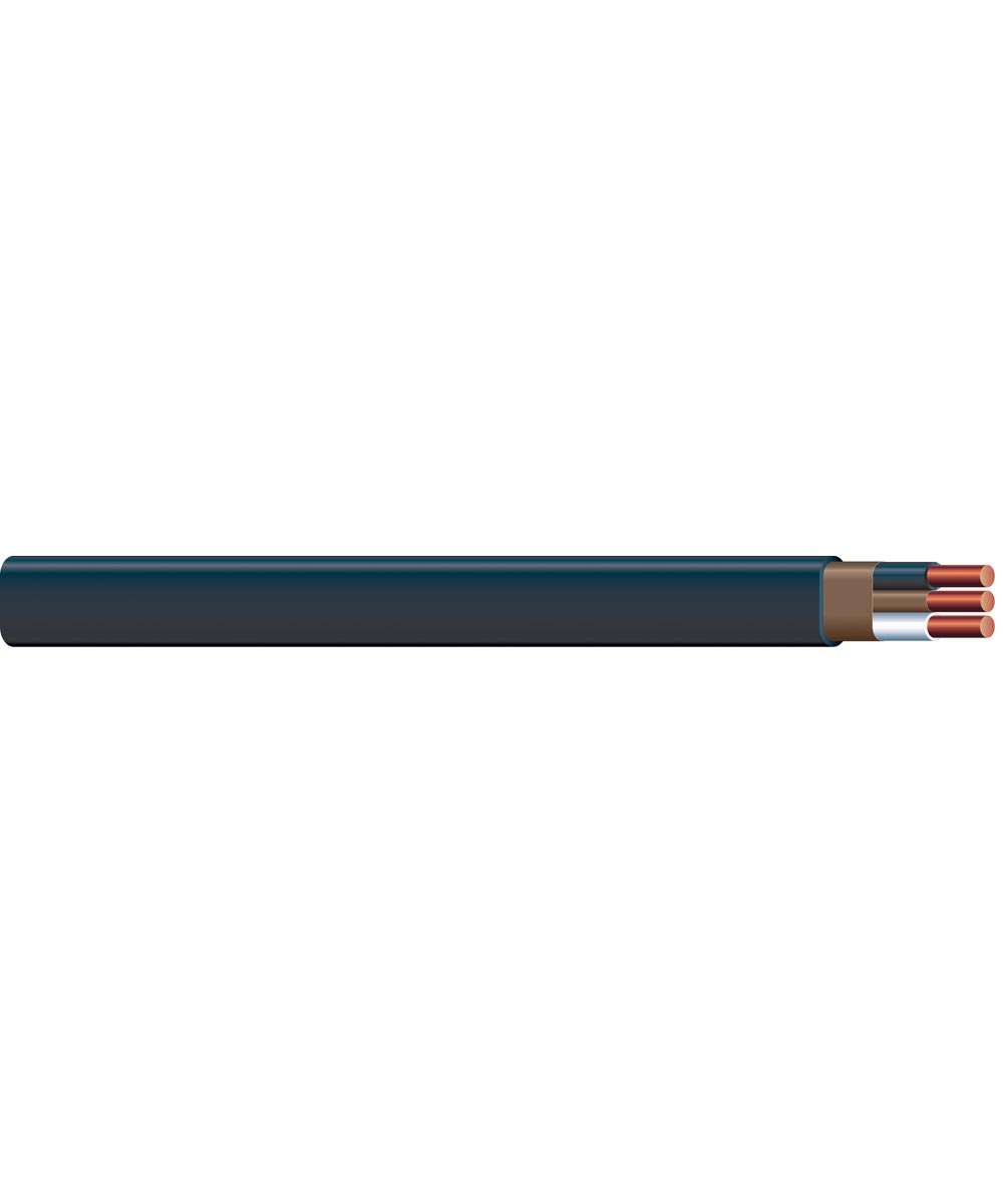 6 AWG Romex SIMpull 2 Con Nonmetallic-Sheathed Cable (Sold Per Foot)