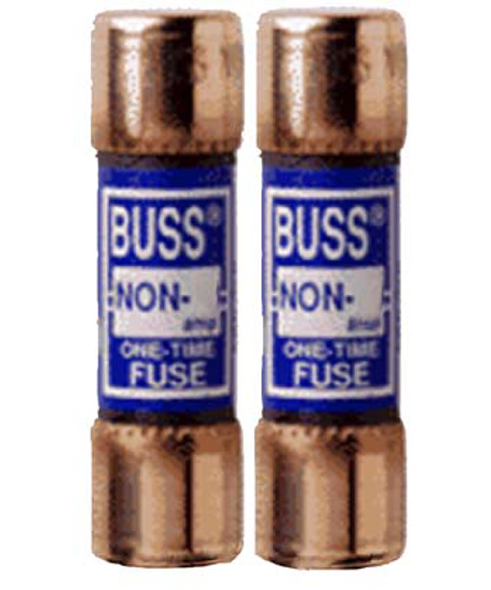 60 Amp 250 Volt Fast Acting Cartridge Fuses 2 Count