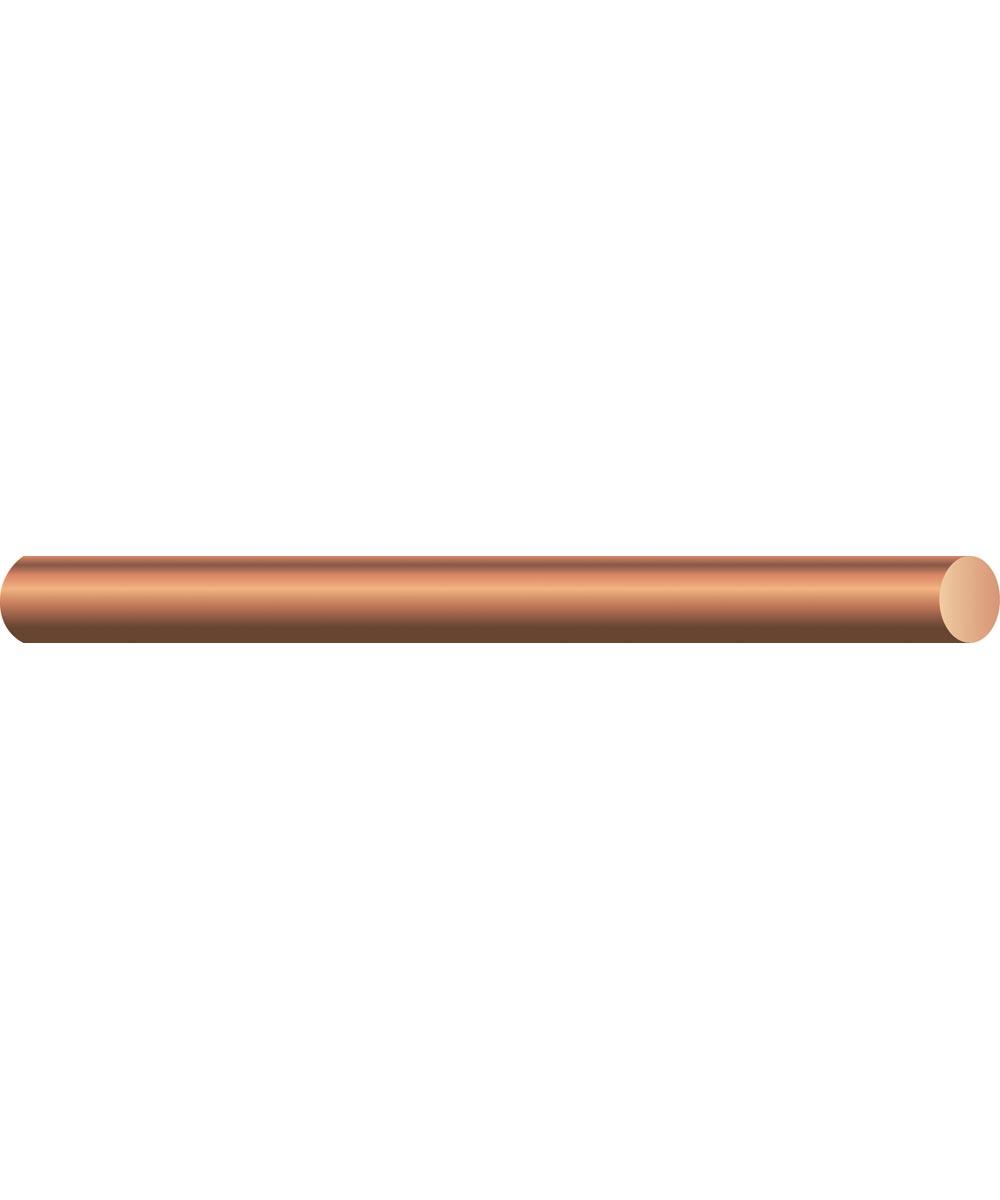 No. 6 Soft Drawn Solid Bare Copper Conductor (Sold Per Foot)