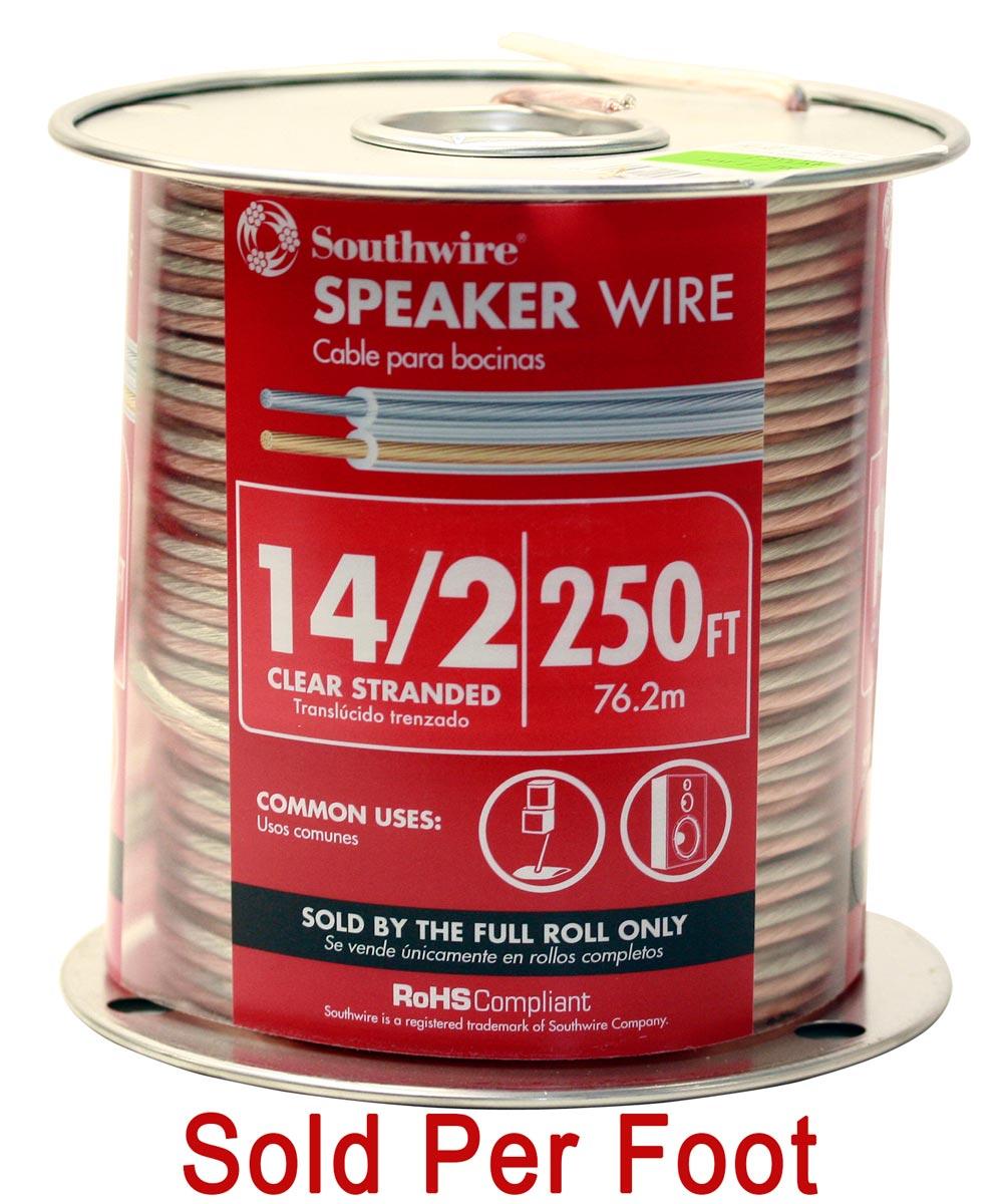 14/2 Speaker Wire (Sold Per Foot)