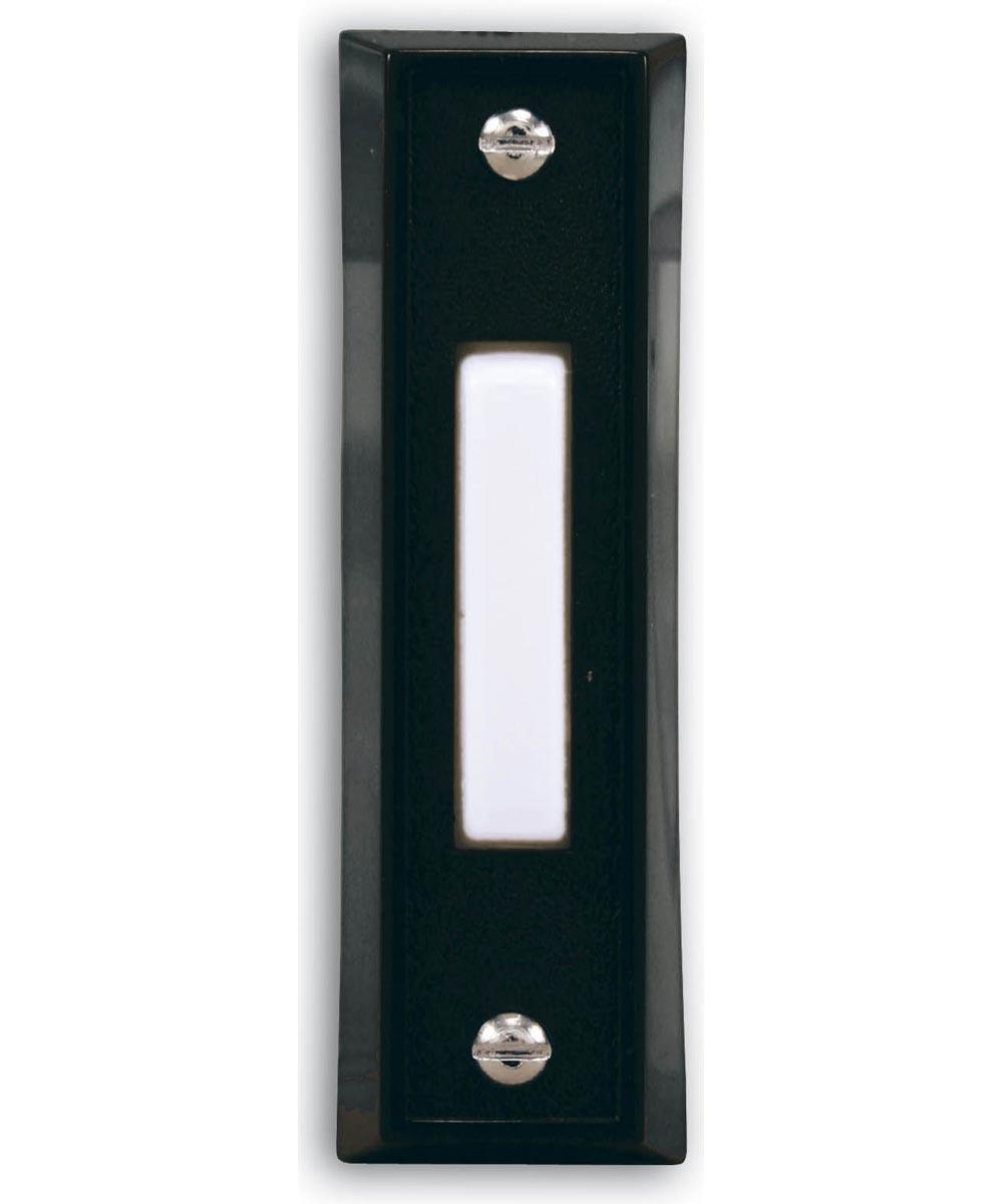 Black Wired Doorbell