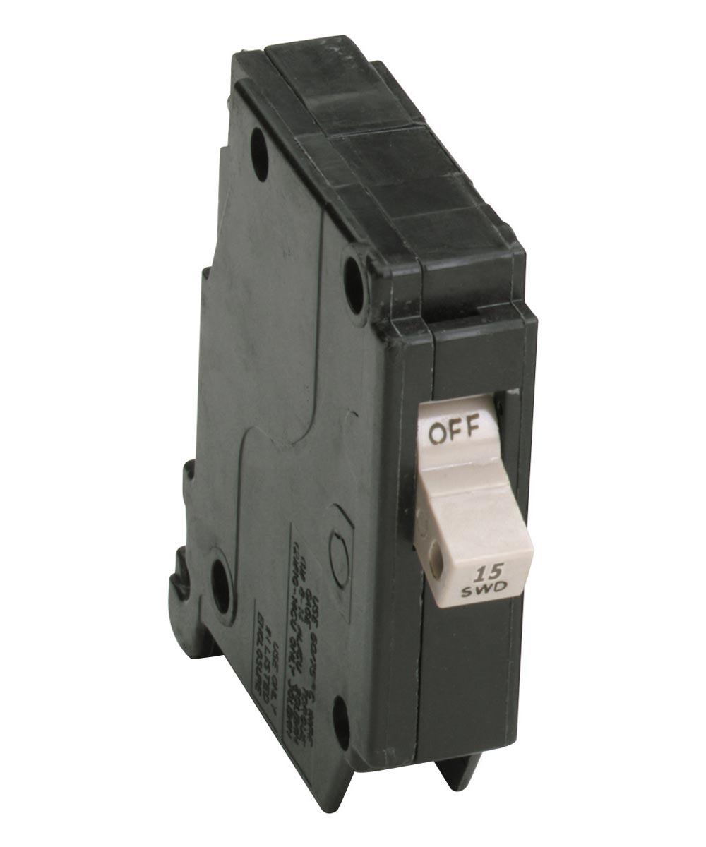 15 Amp Cutler Hammer Single Pole Circuit Breaker