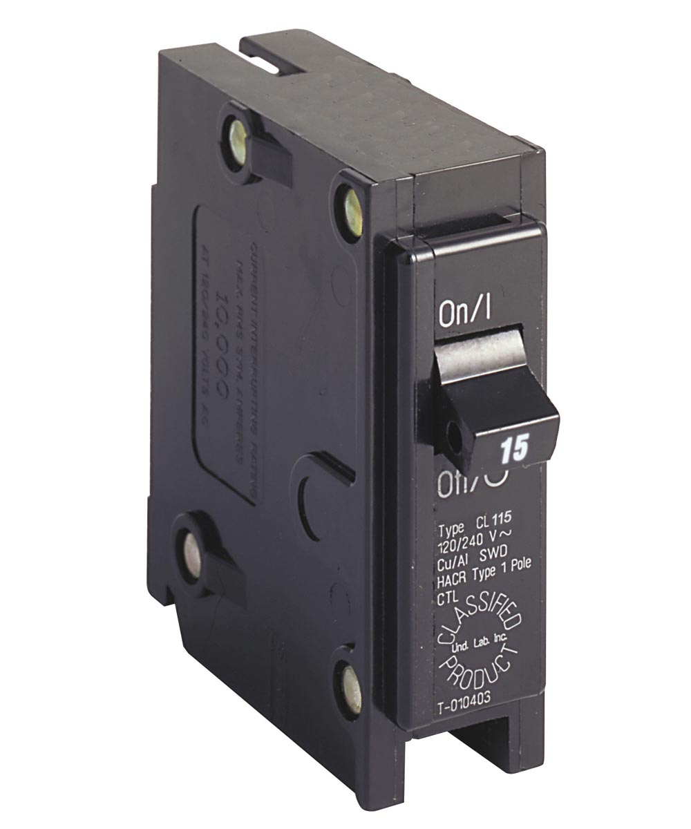 Single Pole 15 Amp Classified Breaker