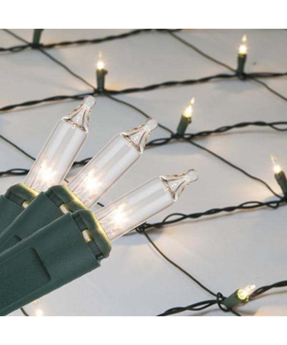 4 ft. x 6 ft. Clear Net Christmas Lights