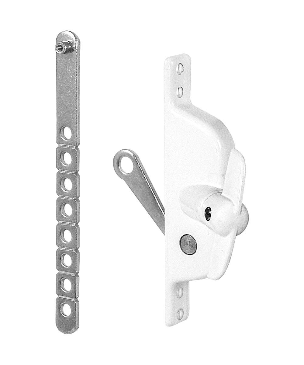 Universal Louver Operator, Adjustable Link, White, Tee Handle,  1 per pkg.