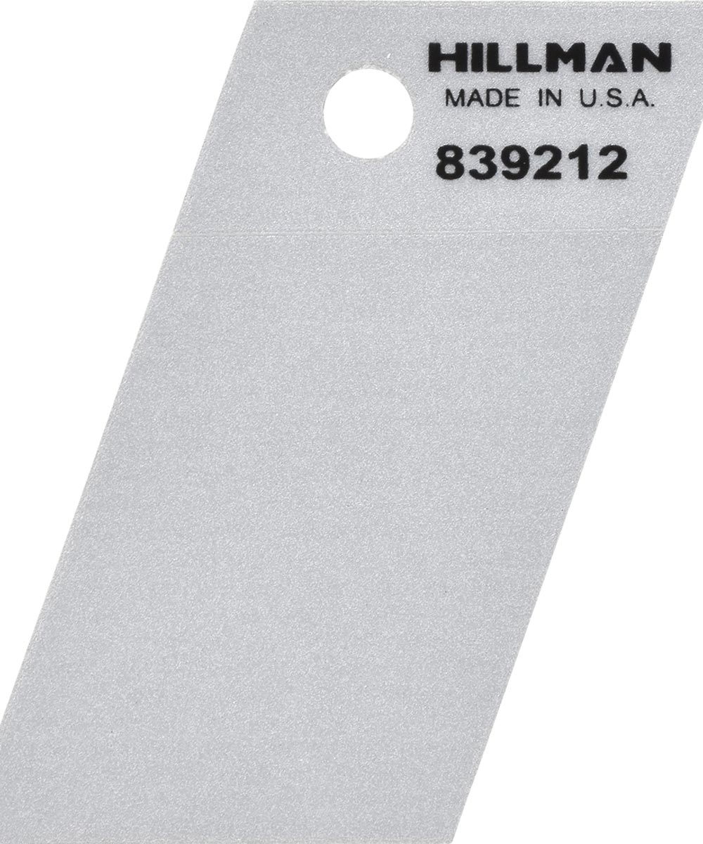 1.5 in. Black and Silver Reflective Adhesive Space