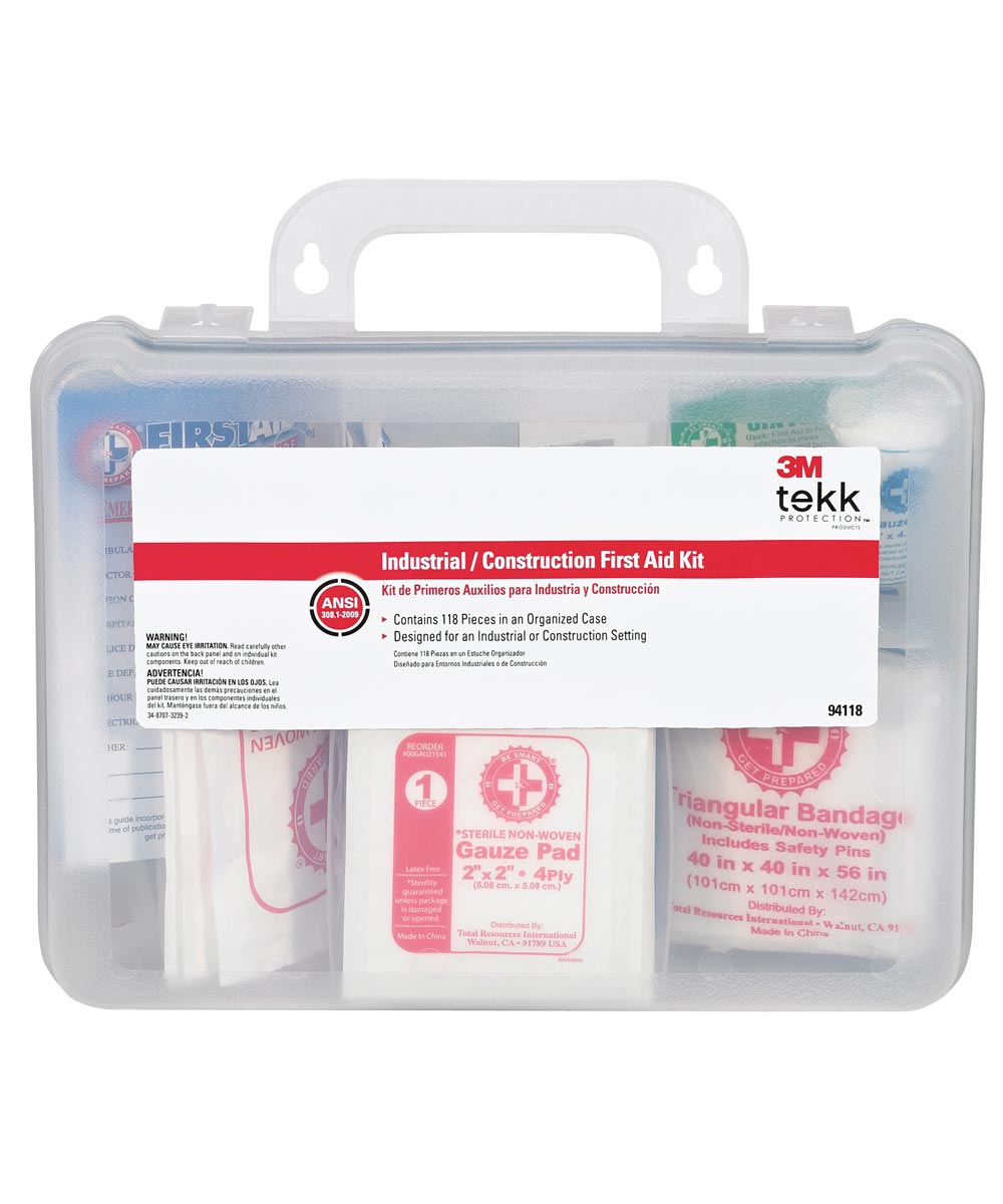 3M 118 Piece Industrial First Aid Kit