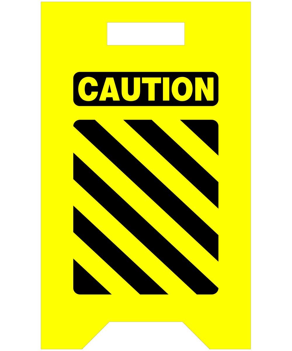 Caution Saftey Floor Sign