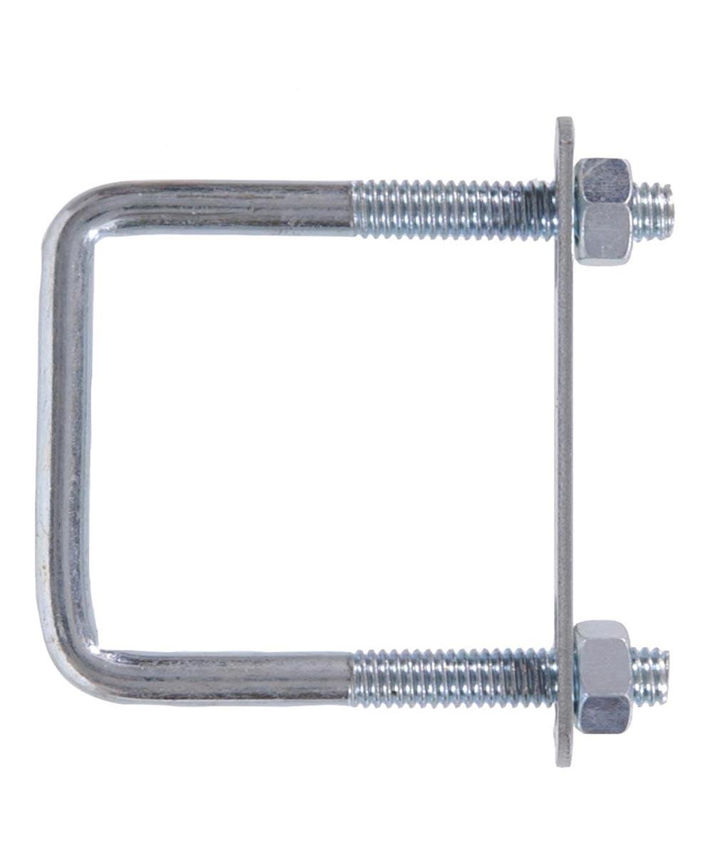 Zinc Square-bolt Square Saddle 3/8-16 X 7 in. X 3 in.