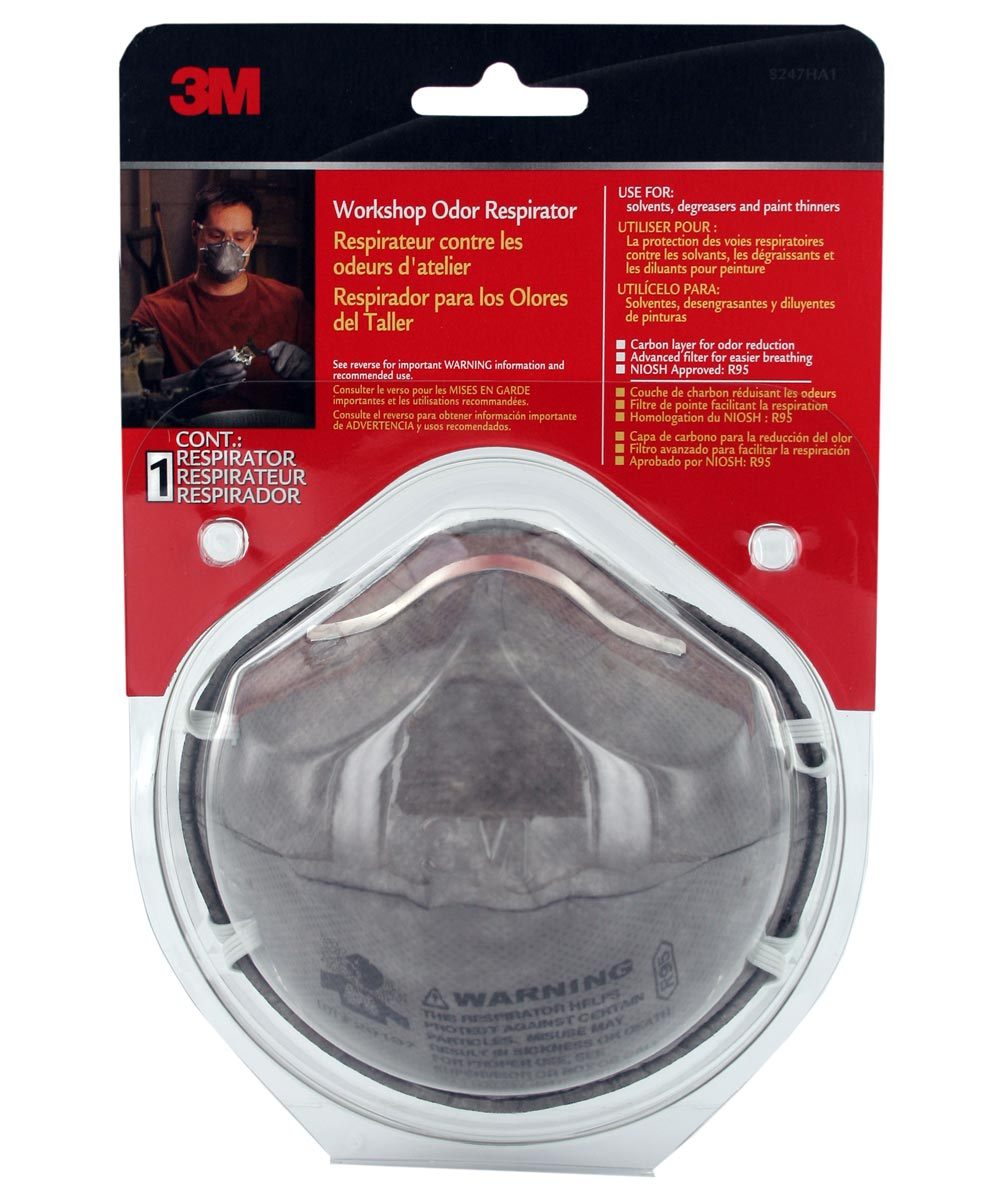 3m paint odor respirator mask