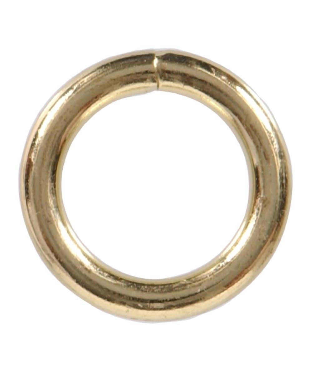 Welded Rings Brass 0.262 in. x 2 in.