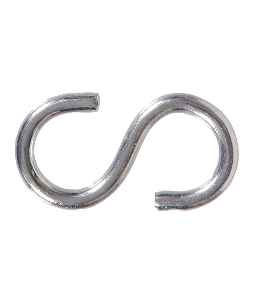 Zinc S-hooks 0.192 in. x 2-3/16 in.