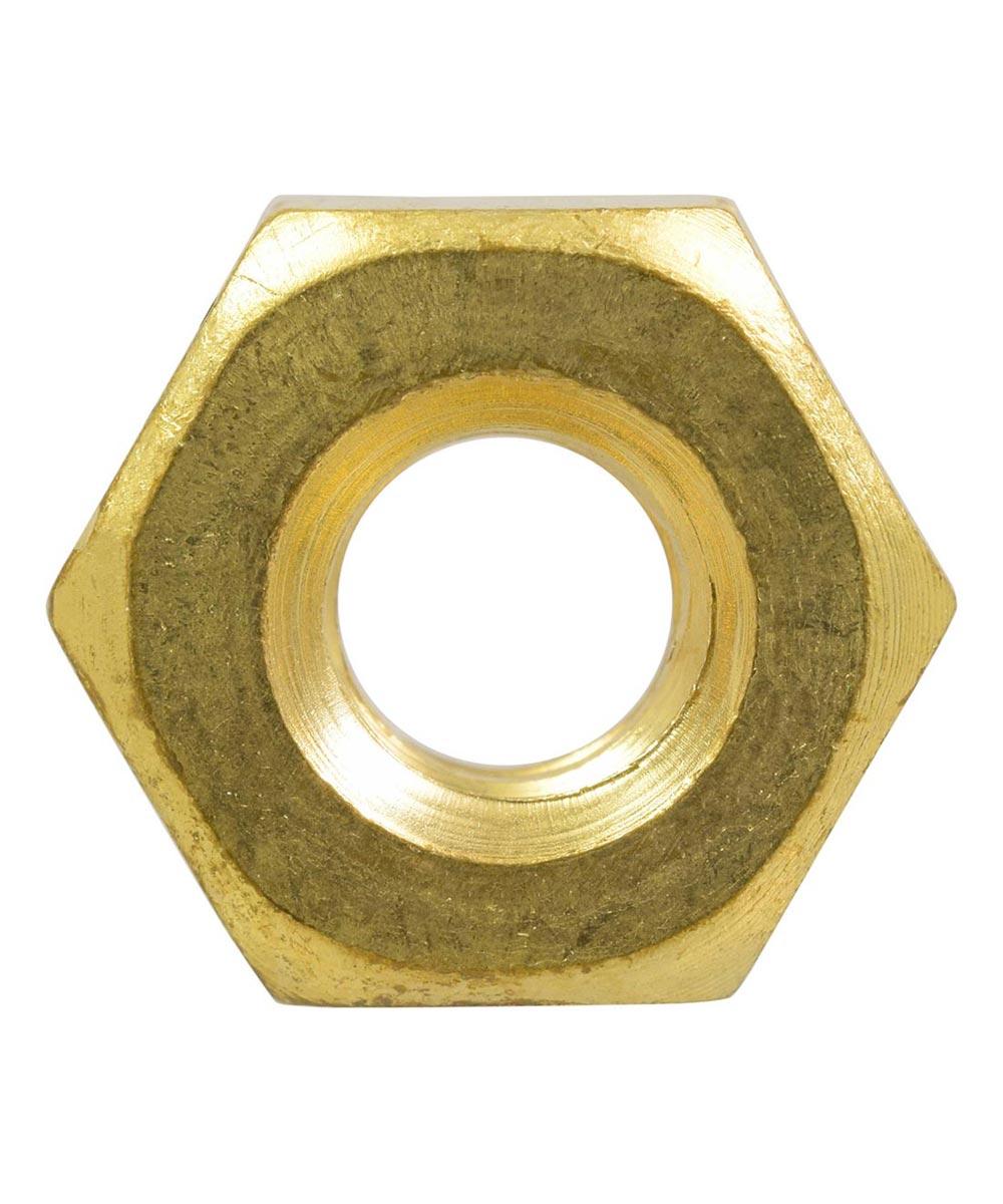 Brass Machine Screw Nut (#6-32)