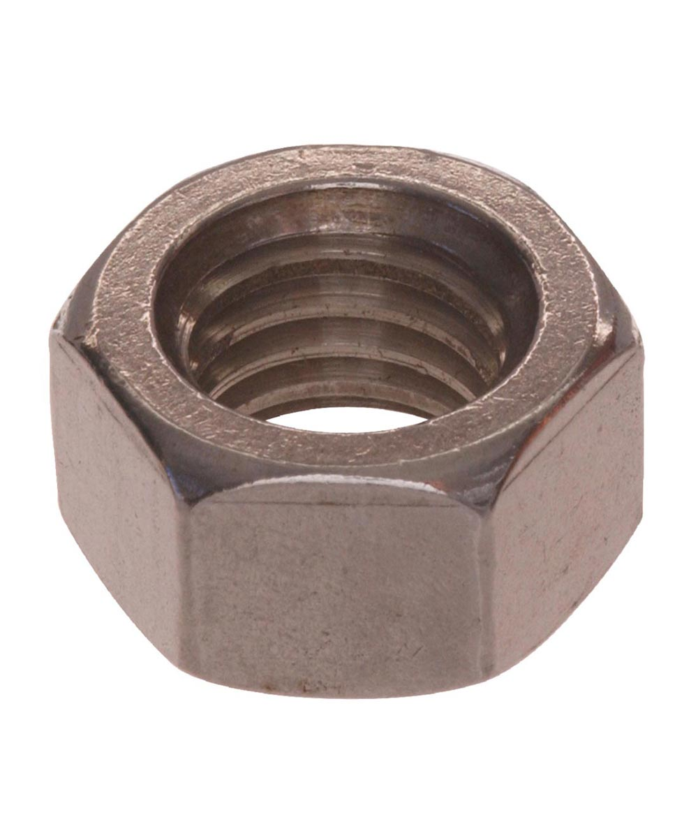Stainless Steel Hex Nut (#4-40)