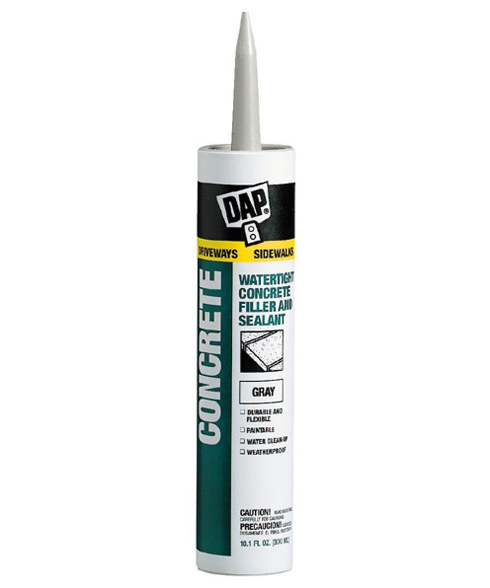 Watertight Latex Concrete Filler and Sealant, 10.1 oz.