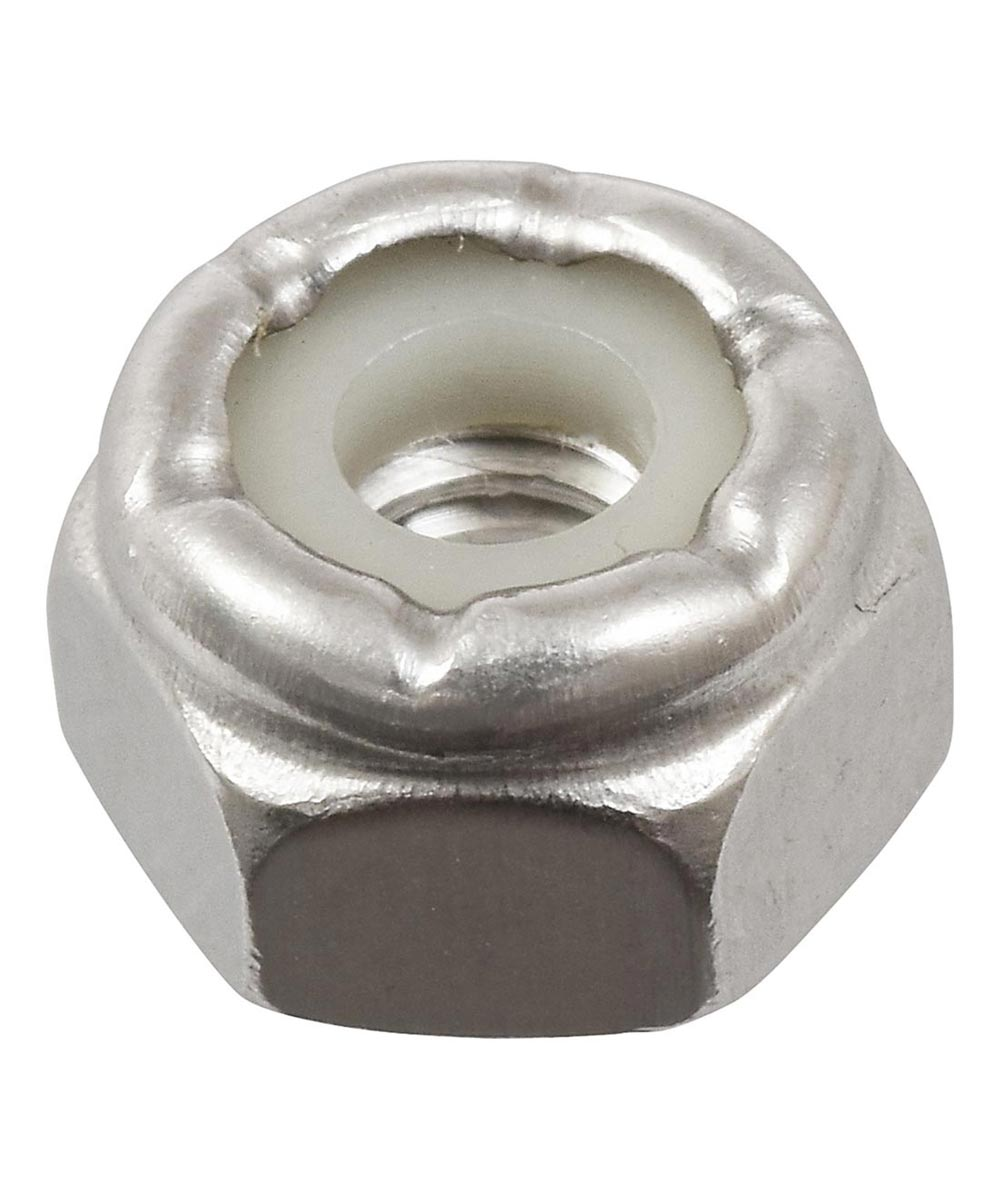Stainless Steel Stop Nut (#8-32)