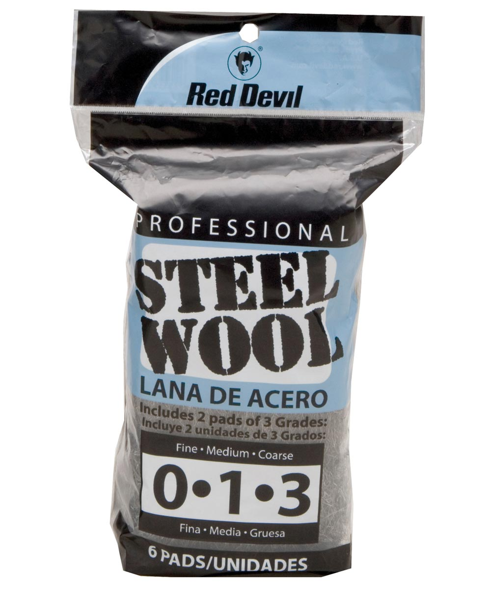 Assorted Steel Wool 6 Pack