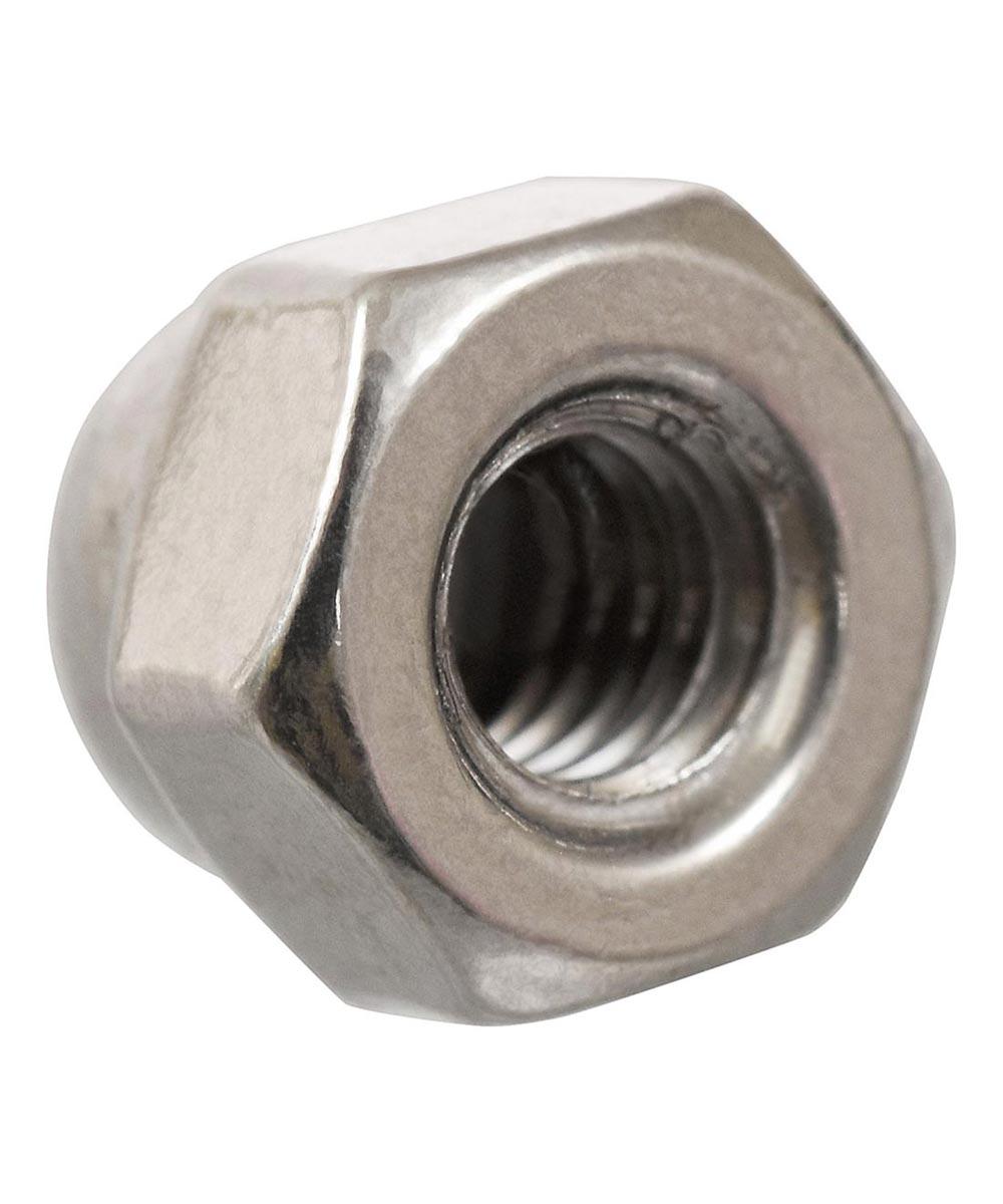 Stainless Steel Metric Acorn Nut (M6-1.00)