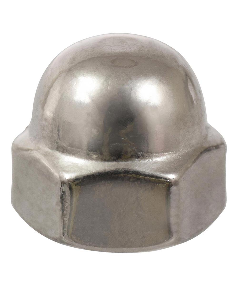 Stainless Steel Metric Acorn Nut (M8-1.25)