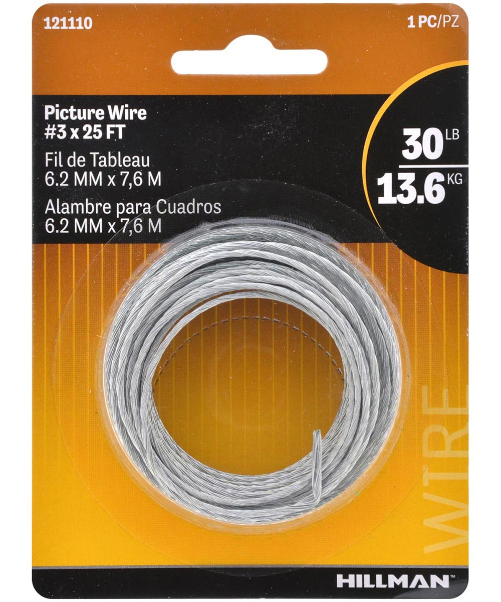 Picture Hanging Wire #3 x 25 ft.