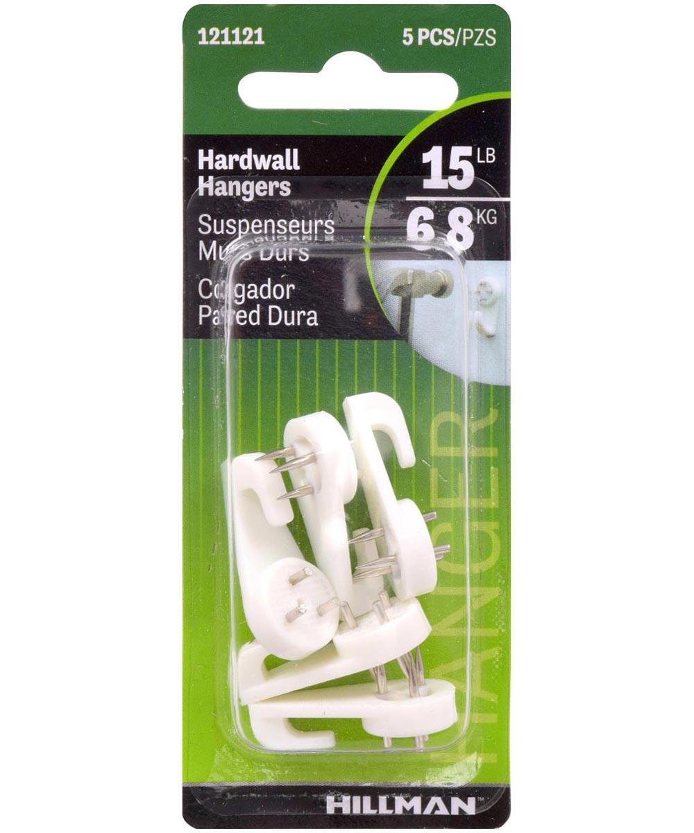 Nail-In Hardwall Hooks 1/2in
