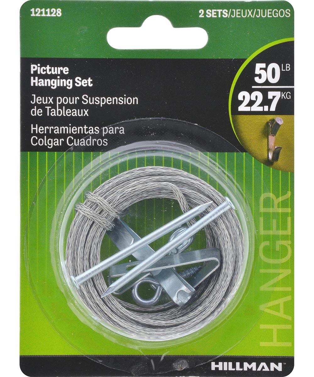 Picture Hanging Kit Set 50lb
