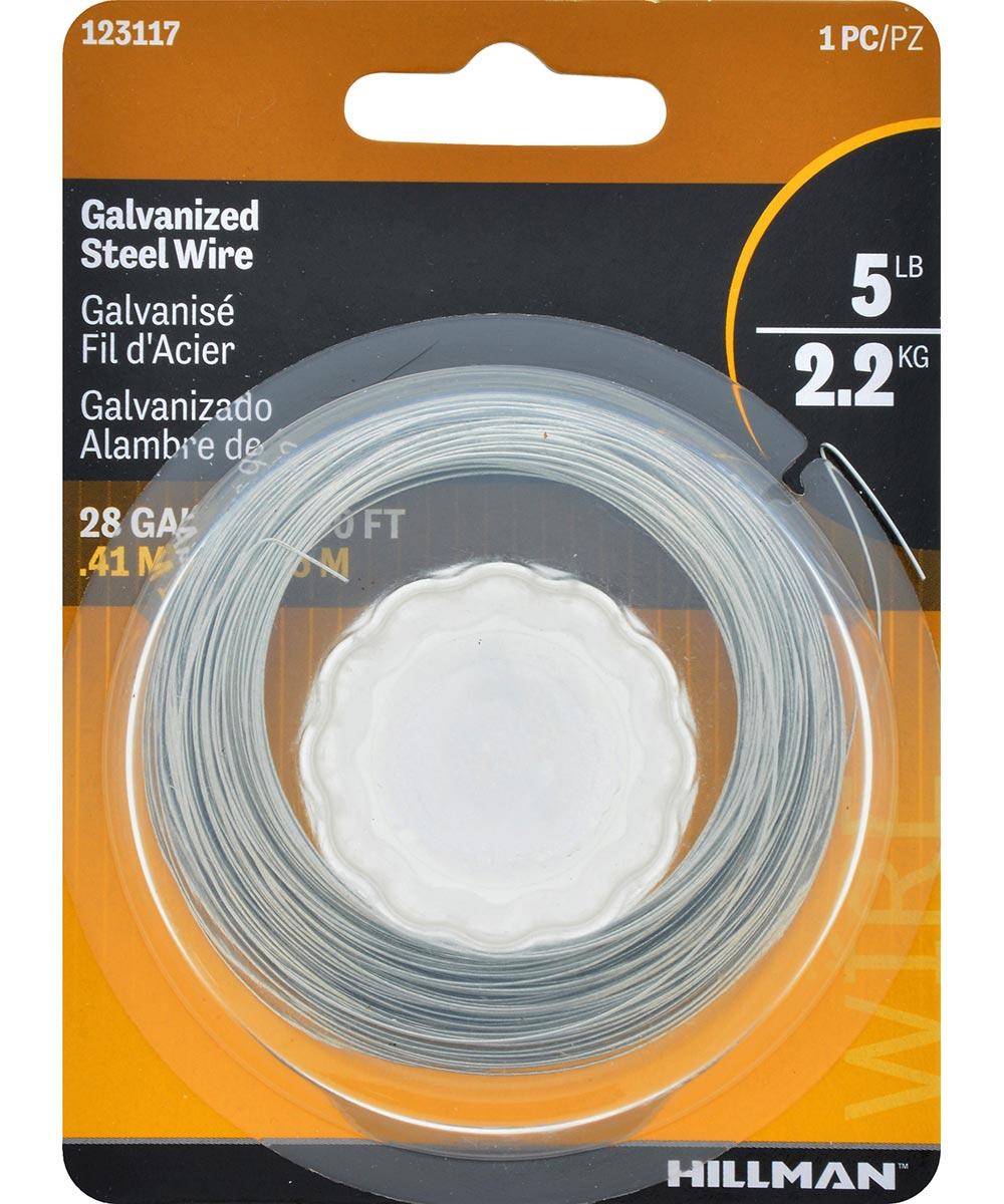 Galvanized Hobby Wire 28 Gauge 100 ft.