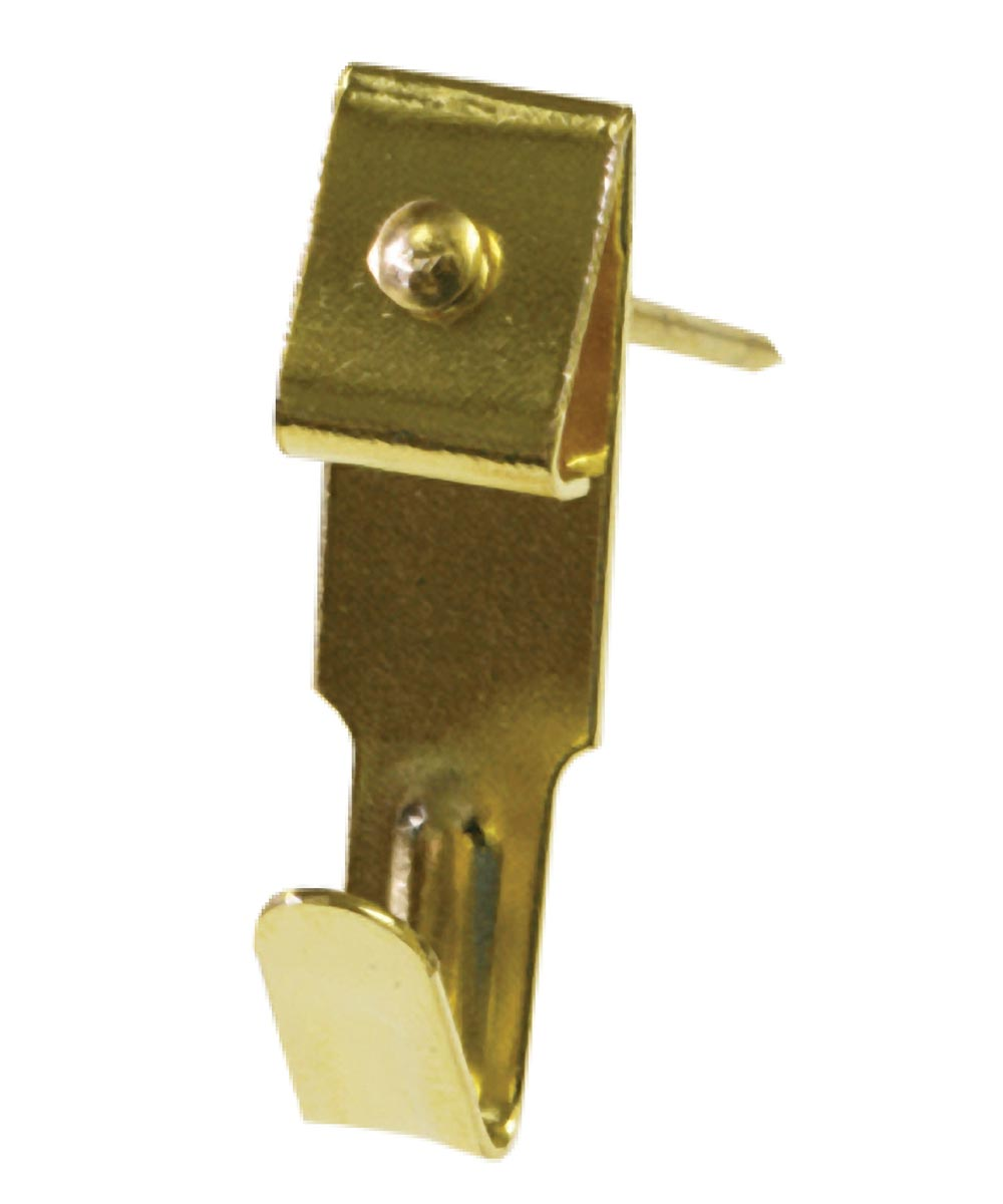 Brass Professional Picture Hangers 25lb 4 Pack