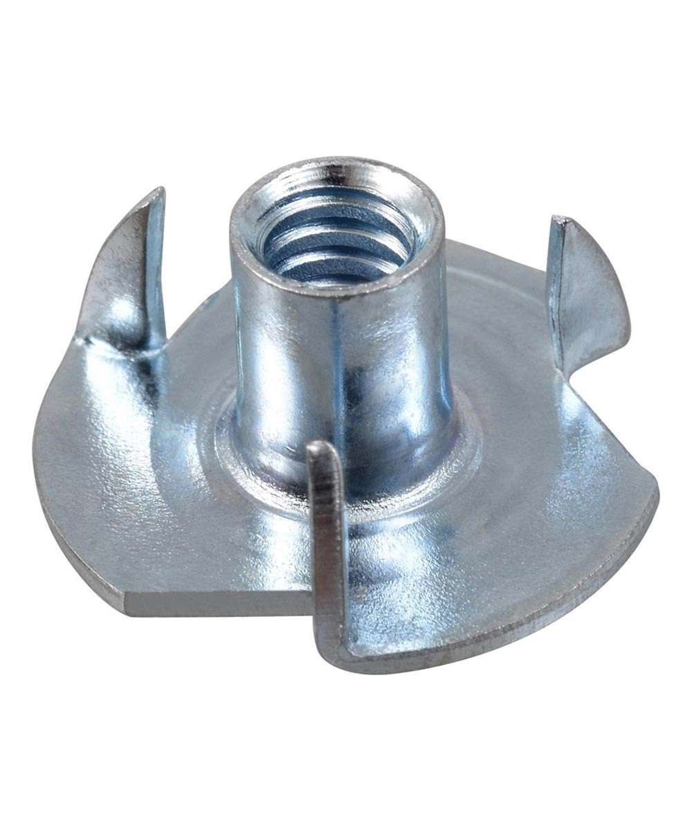 Pronged Tee Nuts #10-24, 4 Pieces