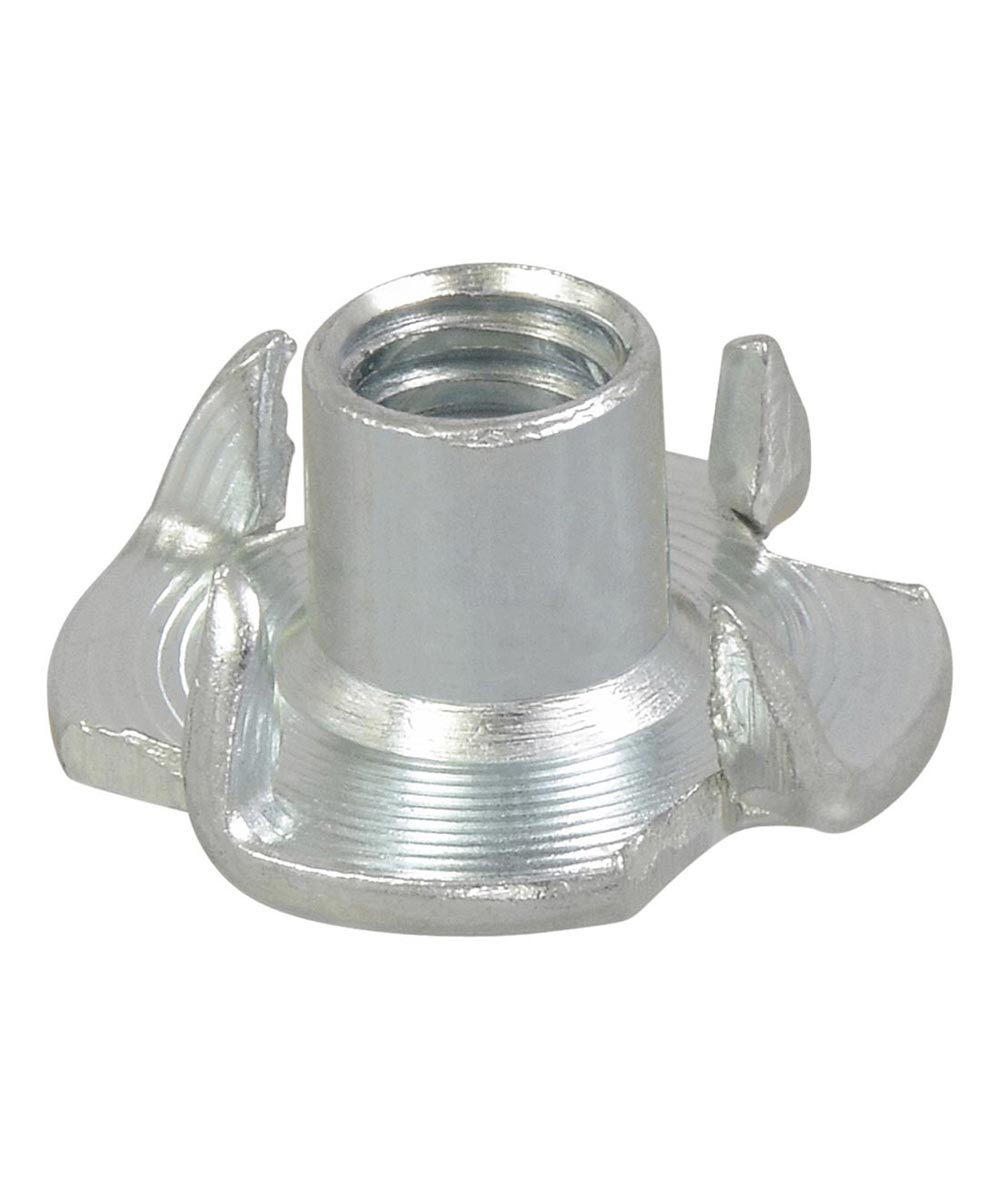Pronged Tee Nuts 1/4-20, 4 Pieces