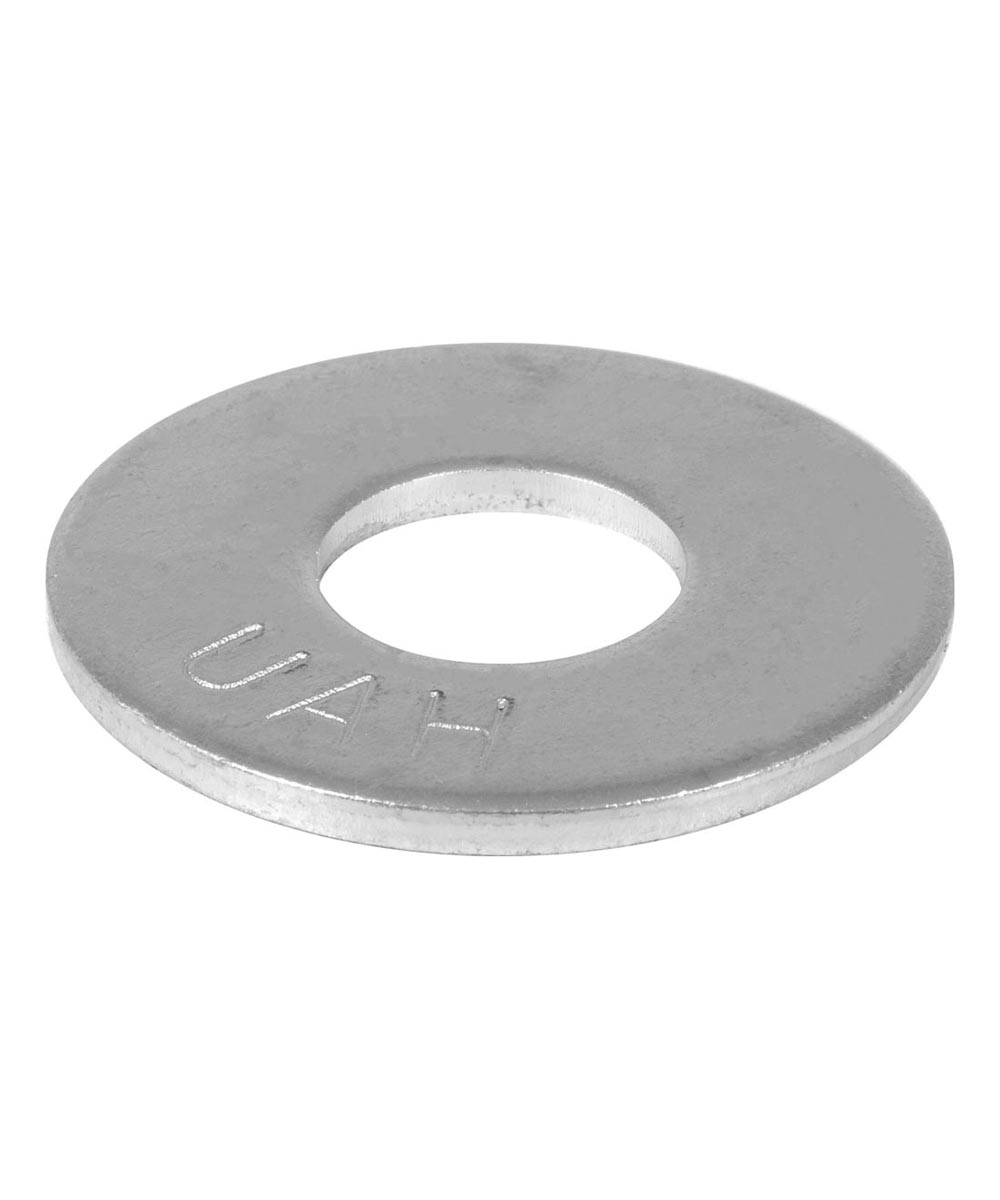 USS Flat Washers 1/4 in., 20 Pieces