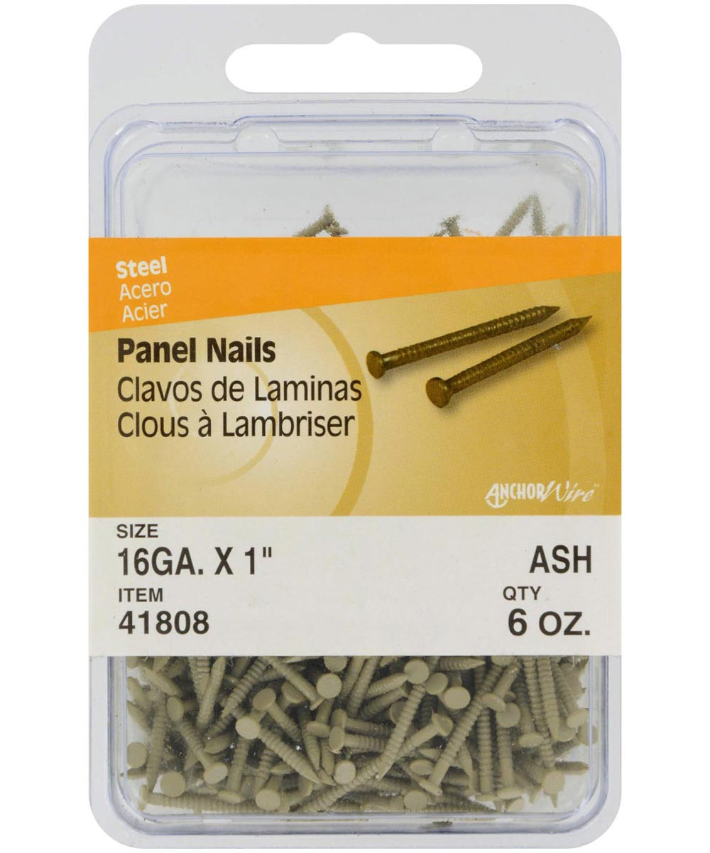 Ash Panel Nails 1 in., 6 oz.