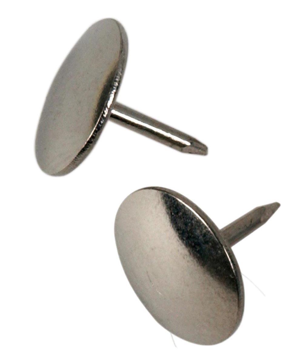Thumb Tacks Nickel, 40 Pieces
