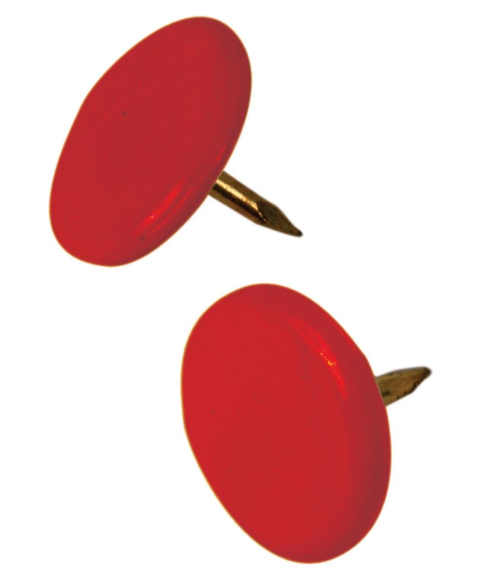 Thumb Tacks Red, 40 Pieces