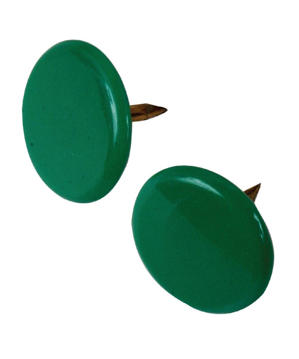 Thumb Tacks Green, 40 Pieces