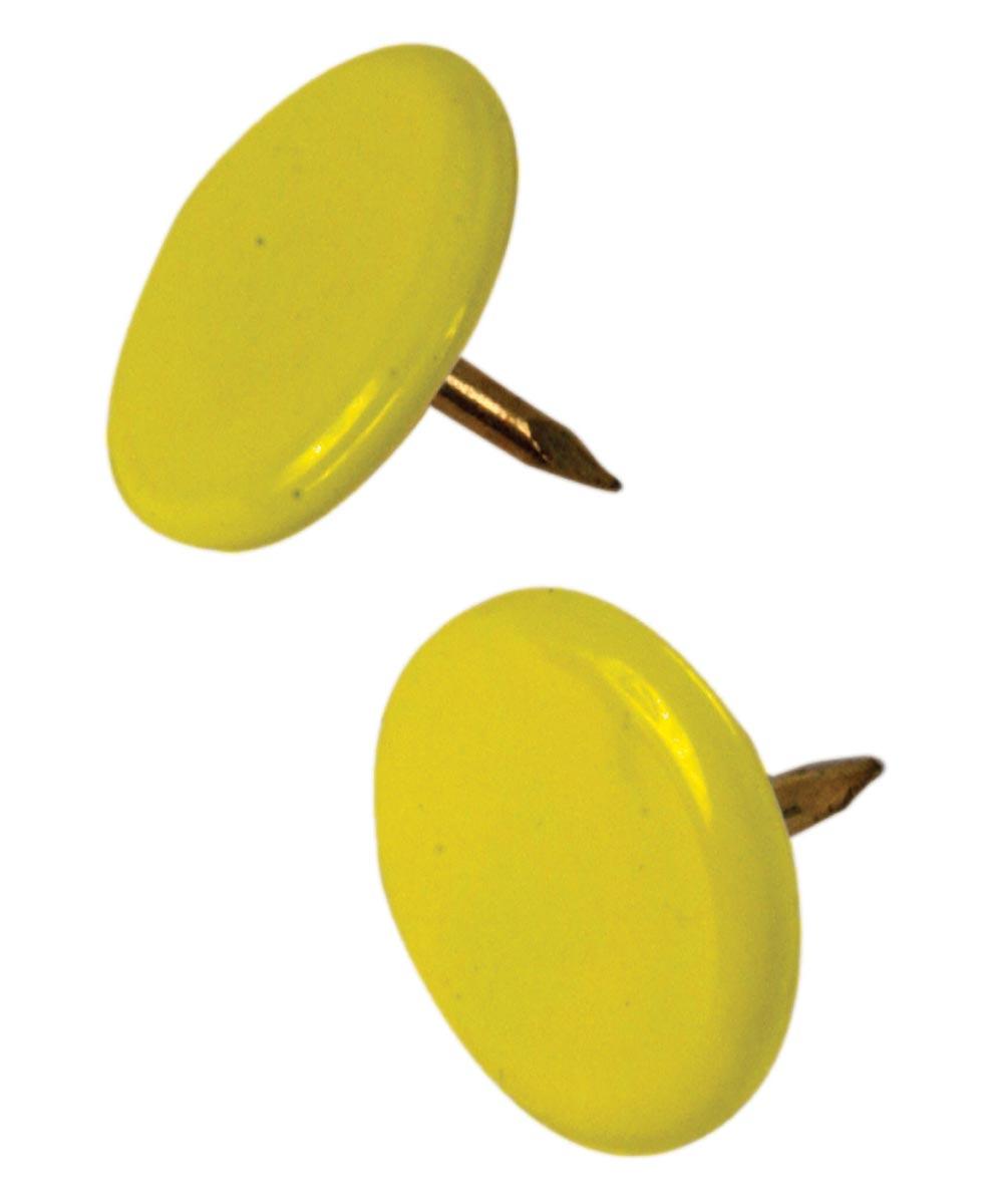 Thumb Tacks Yellow, 40 Pieces