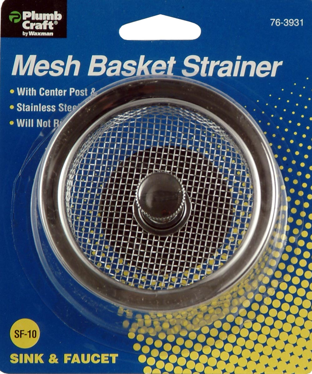 3-1/2 in. Mesh Strainer Basket