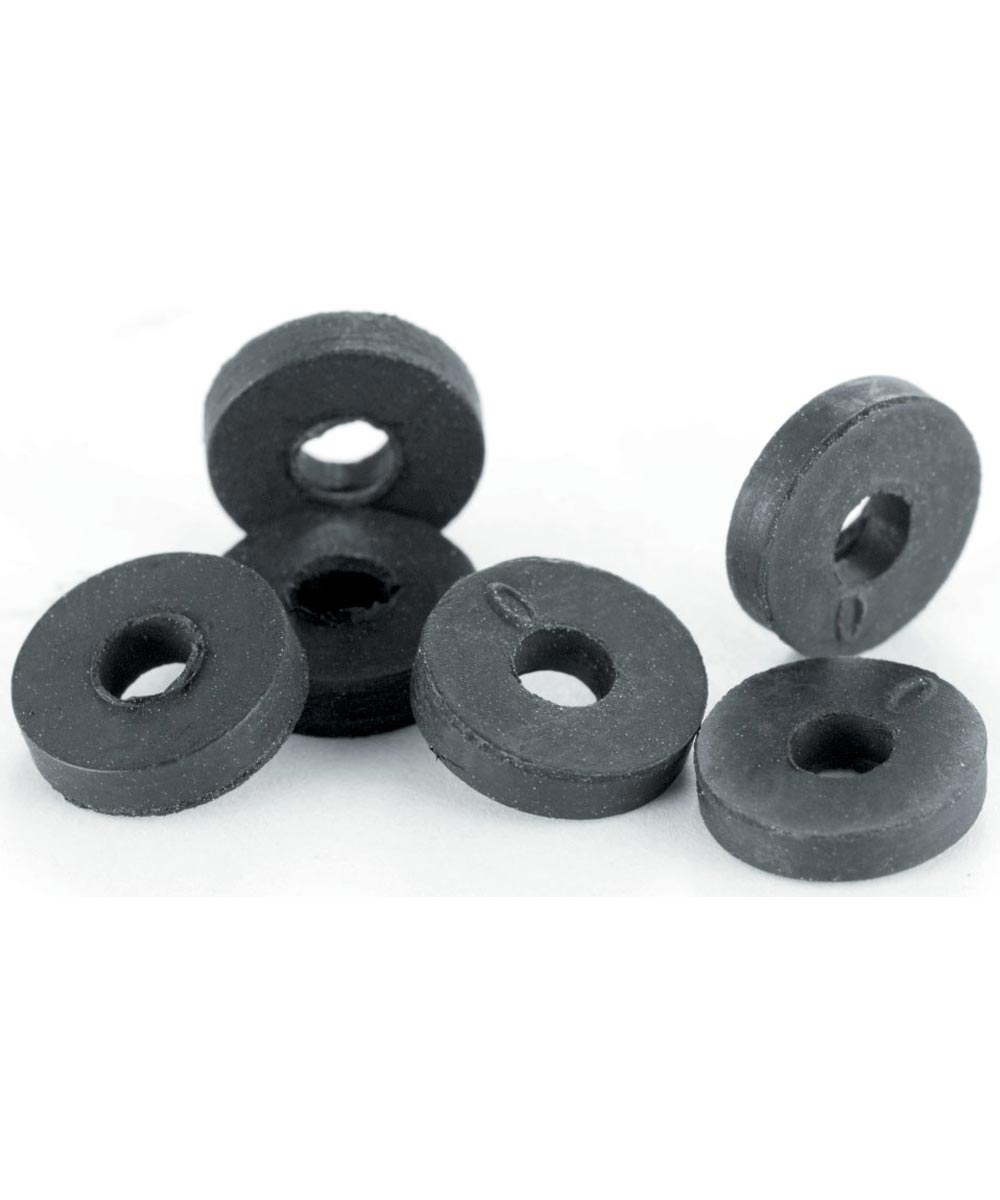 #0 Flat Washers 6 Count