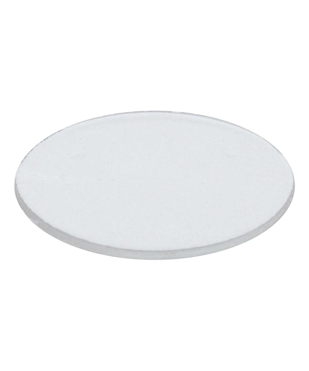 Clear Plastic Protective Frame Non-Skid Discs, 10 Pieces