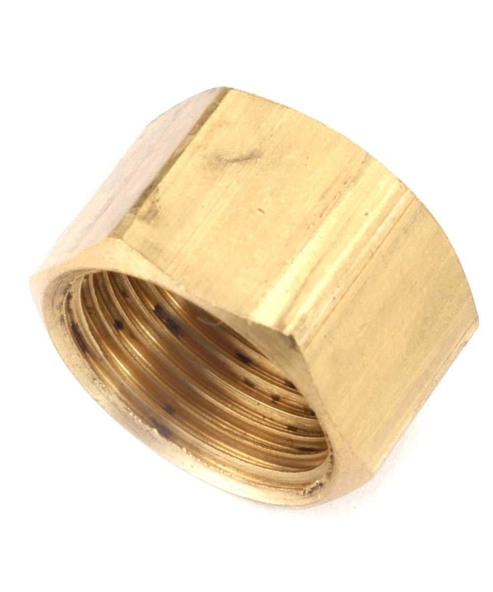 1/4 in. Brass Lead Free Compression Cap