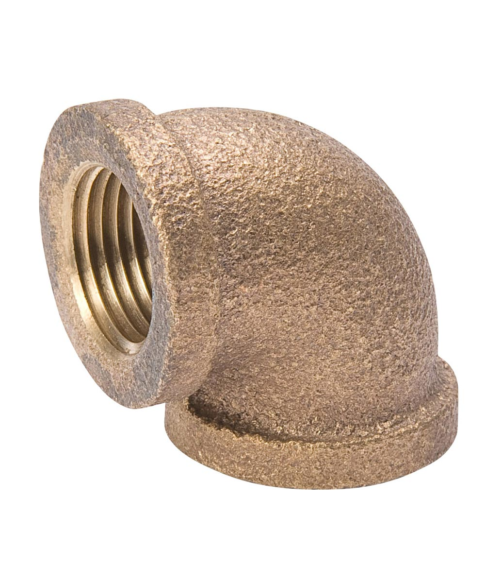 1/4 in. 90D Brass Elbow Pipe