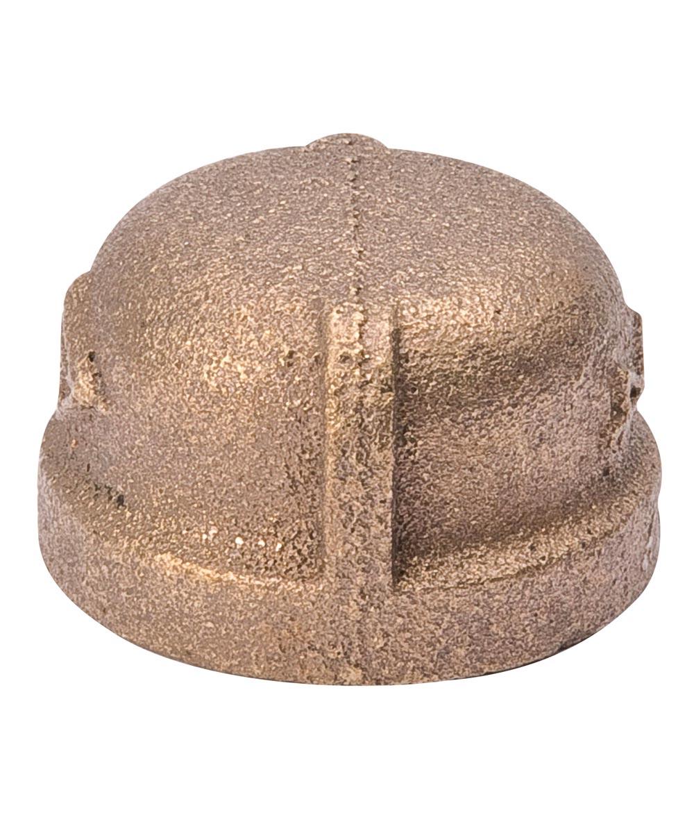 3/4 in. Red Brass Pipe Cap