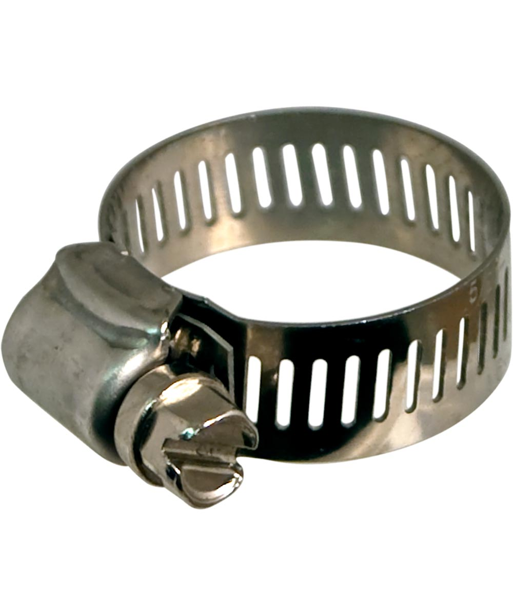 1/2 in. To 1-1/4 in. Hy Gear Worm Drive Clamps