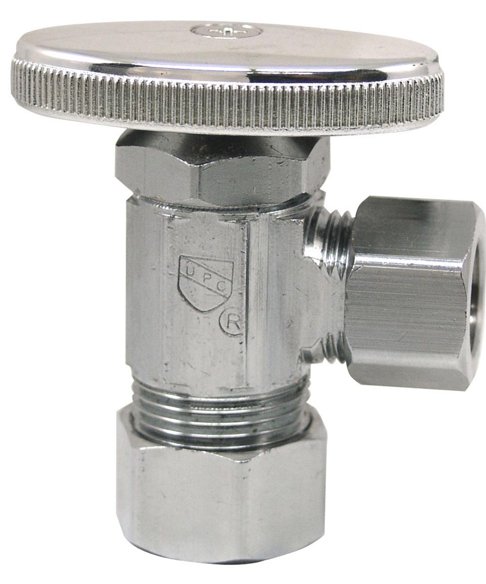 5/8 in. x 1/2 in. Lead Free Angle Valve