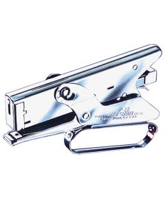 Heavy Duty Gun Plier Stapler, 1/4 in., 5/16 in. (L) Leg, 2-1/2 in. (D) Throat, 4-1/2 in. (H)