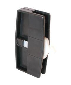 A 109 Sliding Screen Door Handle & Latch, Black Plastic, Nite Lock, Steel Latch