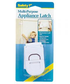 White Multi Purpose Appliance Latch