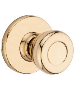 Kwikset Tylo Hall/Closet Door Knob, Polished Brass
