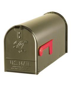 Bronze Elite Premium Steel Mailbox