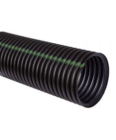 Heavy Duty Perforated Single Wall Pipe, 4 in. (Dia) x 10 ft. (L), HDPE